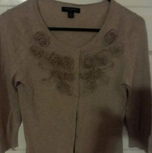 Banana Republic xs button up sweater 3/4 sleeves